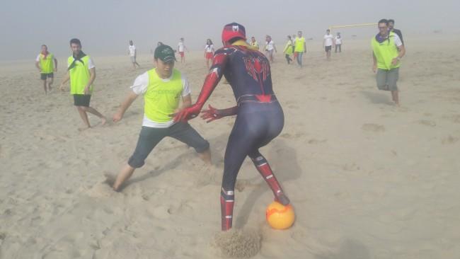 Team building - Beach games Porto