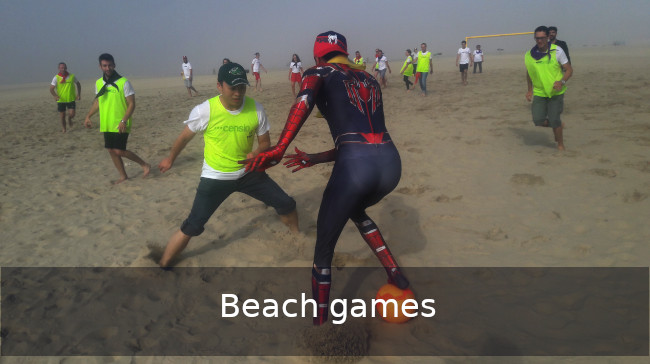 Go Discover Beach Team building