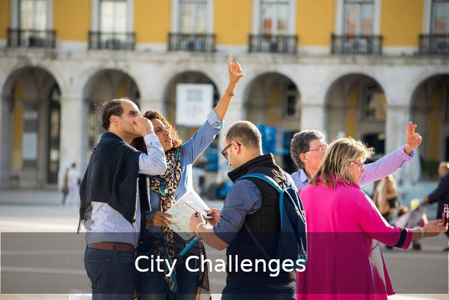 Go Discover City challenges Team building