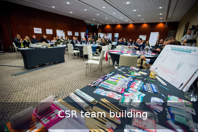 Go Discover CSR Team building