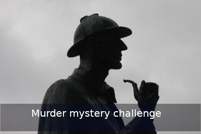 Go Discover murder challenges Team building