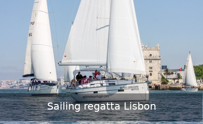 Sailing regatta Lisbon team building