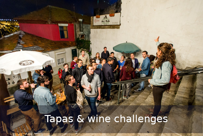 Go Discover Tapas challenges Team building