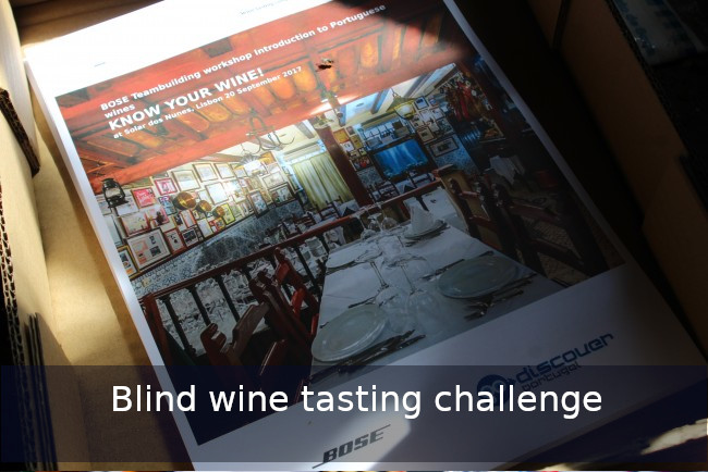 Go Discover the wine challenge Team building