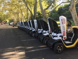 Lisbon Electric car Tours for groups, team building and events