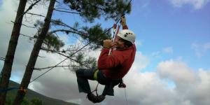 Alpinismo, Rapel e Slide em Tomar