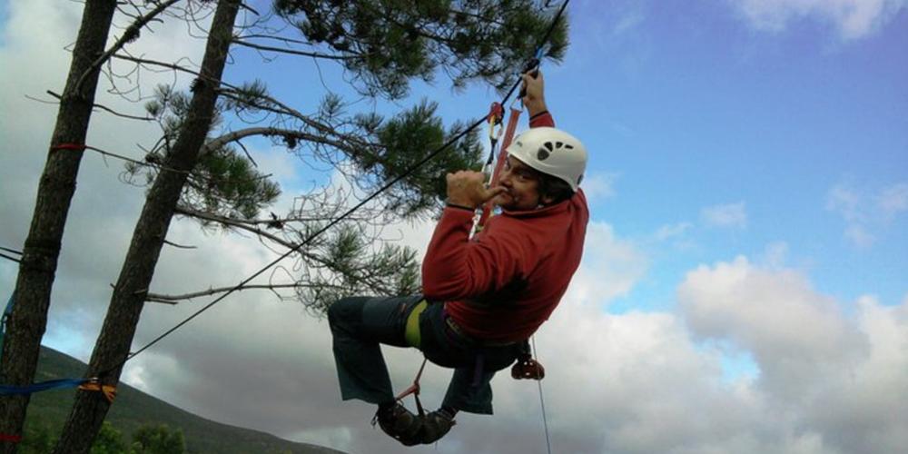 Climbing activities in Tomar