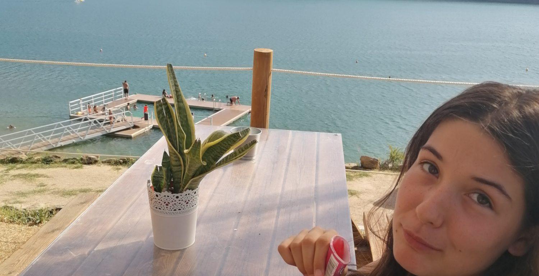 Fontes beach and bar, Castelo do Bode
