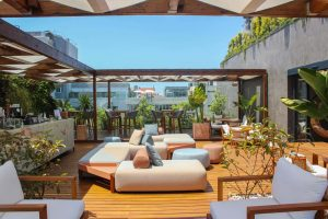Infinity Rooftop terrace