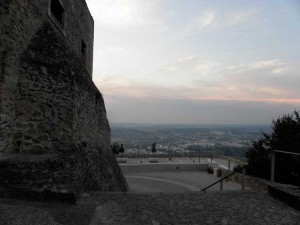 Abrantes castle and fort