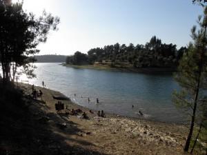 Cabeca Gorda Lake beach